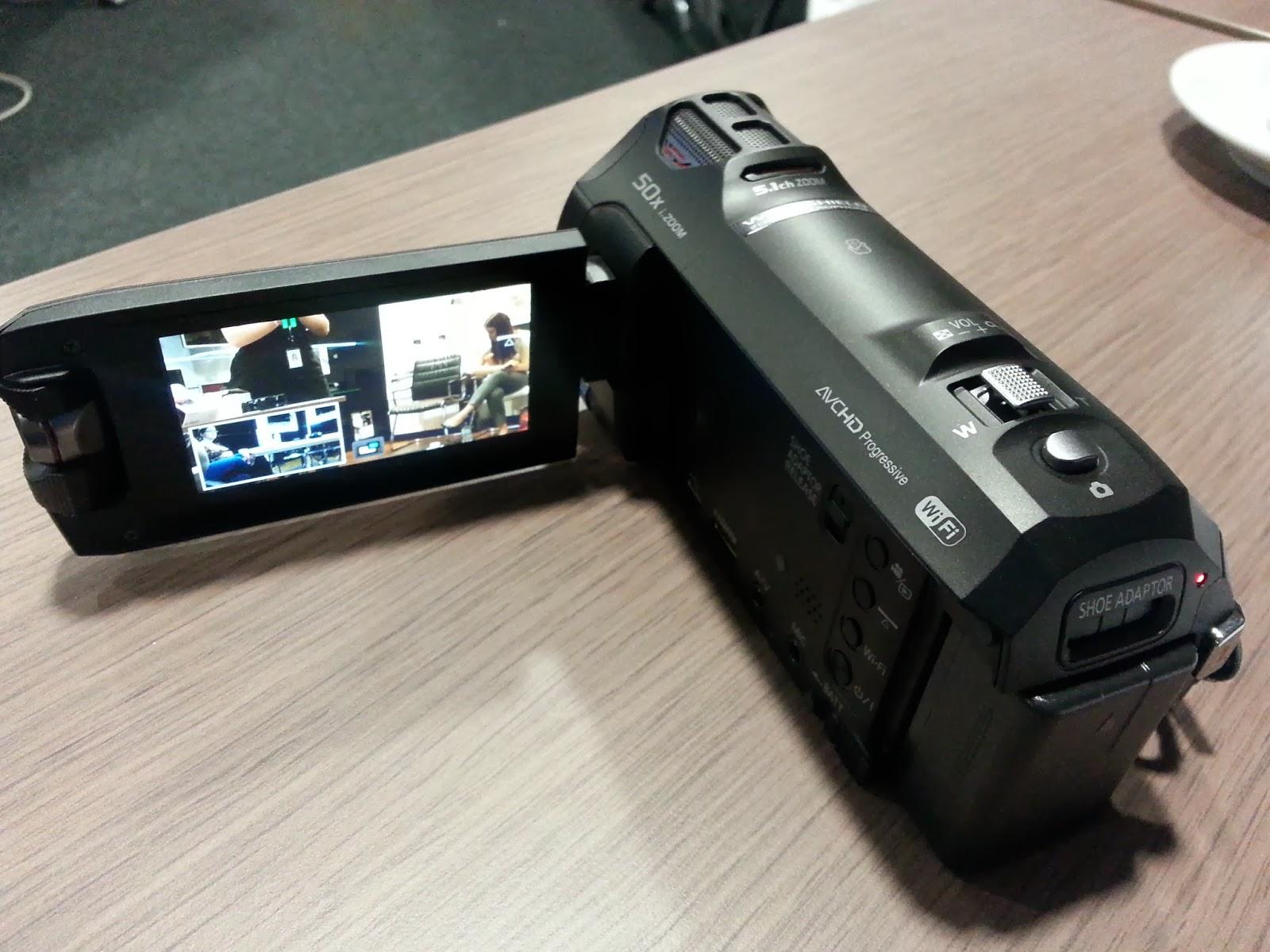Panasonic Brit Blogger, Panasonic Cameras, Panasonic Camcorders