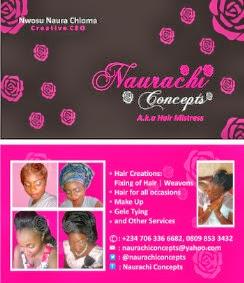 NAURACHI CONCEPT a.k.a Hair Mistress