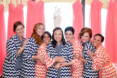 Lindas batas de damas de honor | Bodas a la moda