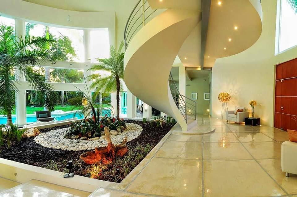 Construindo minha casa clean casa moderna com vidros e for Casa moderna 4 ambientes