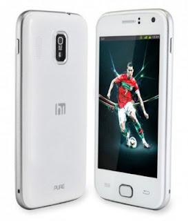 Himax Pure Smartphone Android ICS Dual Cora dan Dual Kamera