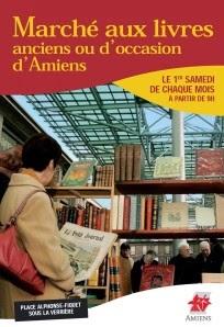Marché aux livres d'Amiens