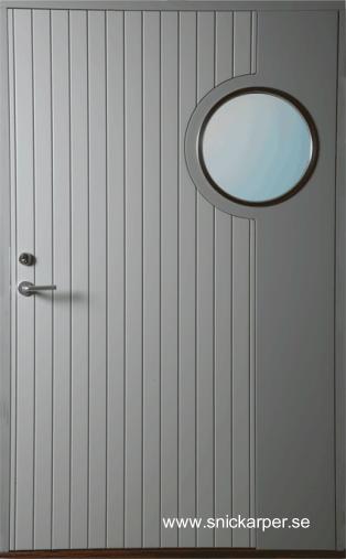 Puerta de exterior sueca diseño moderno estilo Contemporáneo