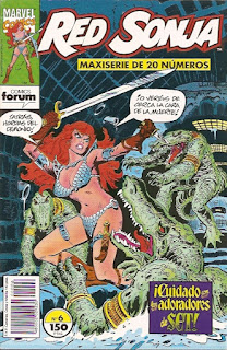 Comics Red Sonja Forum Castellano