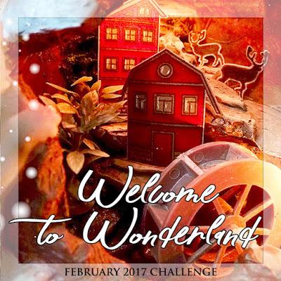 """+++ Задание-вдохновение февраля """"Welcome to Wonderland"""" до 28/02"""