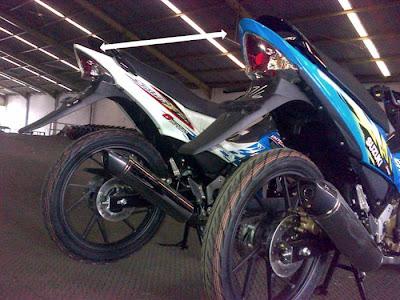 New Suzuki Satria FU