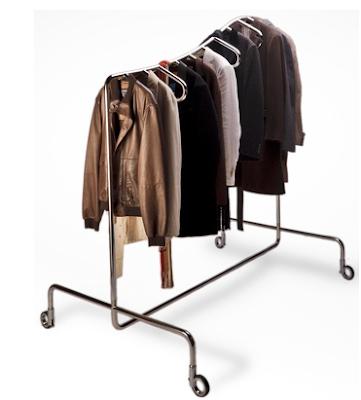stainless steel garment rack