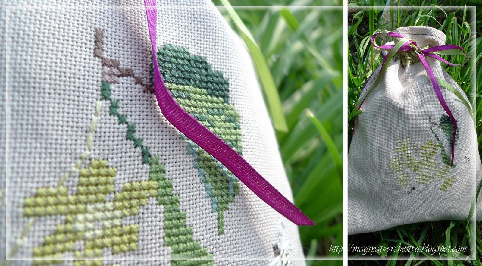 Липовый цвет схема вышивки