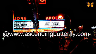 Apollo Theatre New York City Janelle Monae Electric Tour #CoverMoment New York City