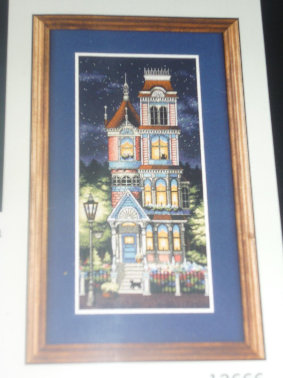 Схема вышивки ведьмин дом 5