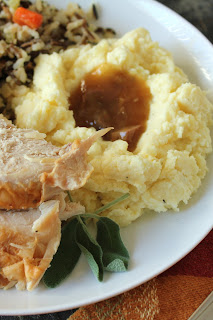 turkey giblet gravy, fructose-free thanksgiving