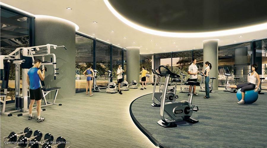 Marina One Facilities Fitness club
