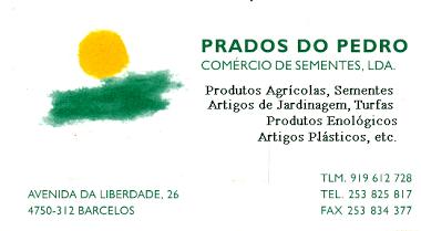 Prados do Pedro - Comercio de sementes ldª