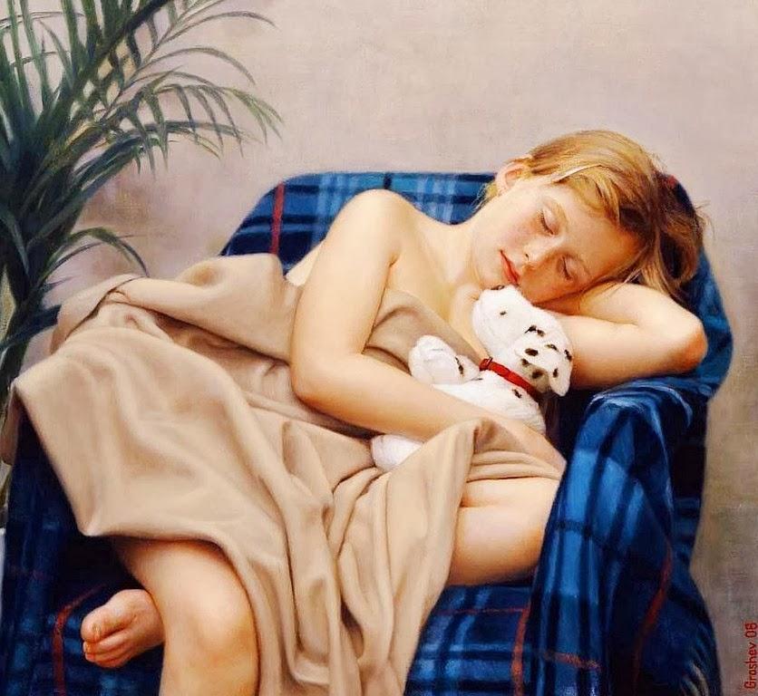 Маленькая Девочка Голая Аня