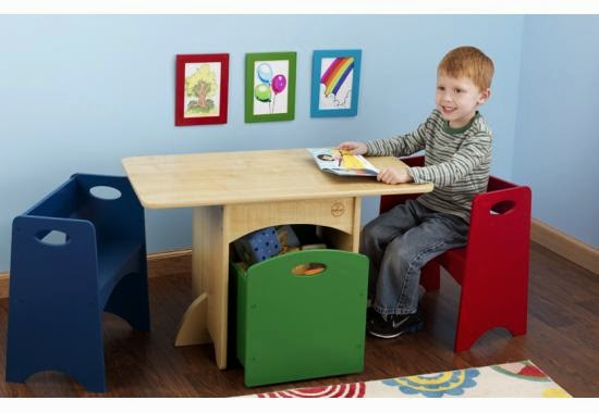 Kidkraft Table With Primary Benches 26161