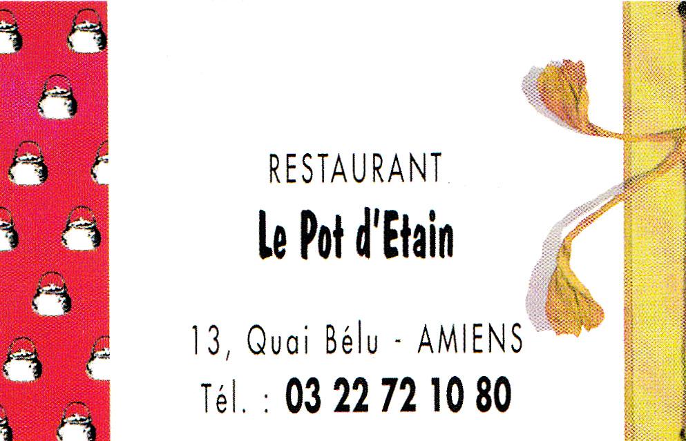 the traveler s drawer restaurant le pot d etain amiens
