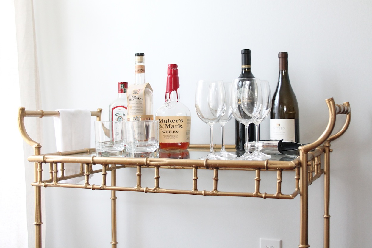 iu0027m sure youu0027ll be seeing this piece a lot in my future as it makes a great bar dessert bar and more learn how to style a bar cart here - How To Style A Bar Cart