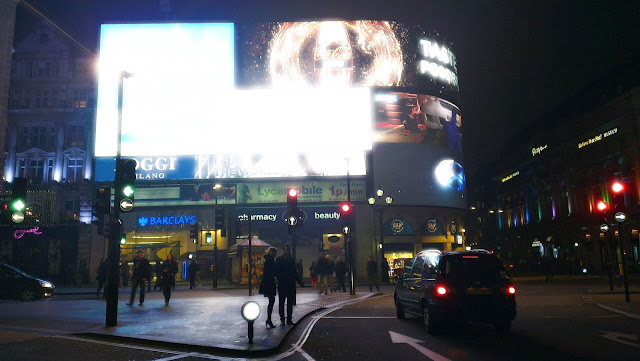 Night Photo of Piccadilly Circus