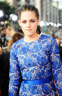 Kristen Stewart Casual Ponytail Hairstyle at the 2012 Kids Choice Awards