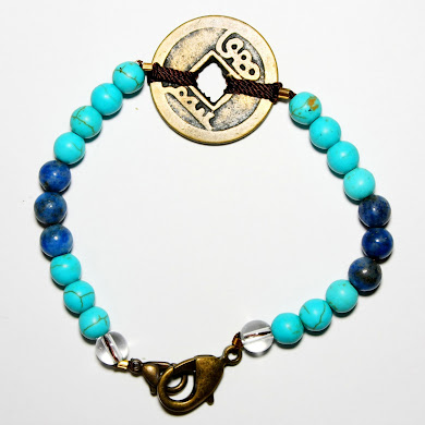 Health Bracelet with Coin