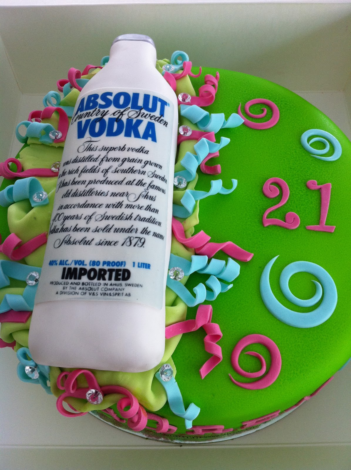 Cake Decorating Qualifications : Mandylicious Cakes: Absolut delicious