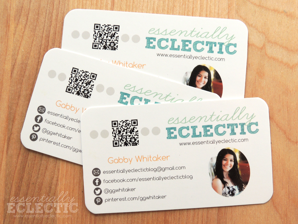 How to design custom business cards for your blog if youre thinking of turning your blog into a business youll colourmoves