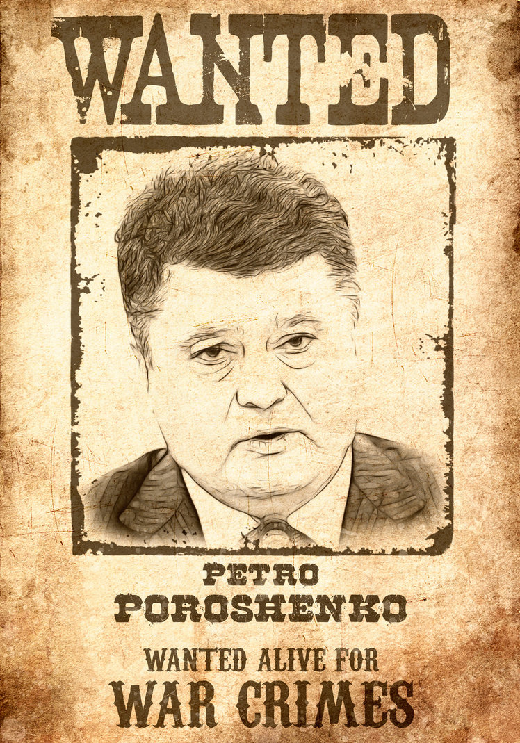 PIOTR POROSHENKO ES CULPABLE DEL ASESINATO DE MILES DE CIVILES EN DONBASS, ENTRE ELLOS DECENAS DE NINOS/AS
