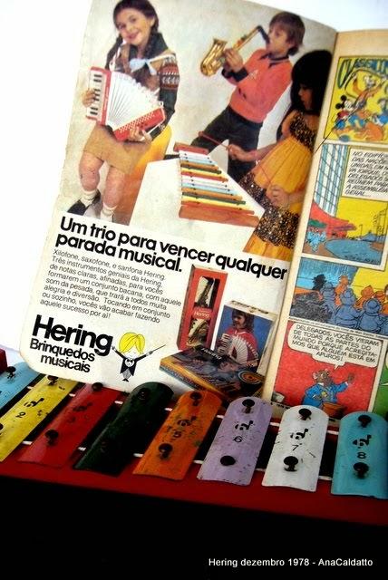 Antigos Brinquedos Musicais Hering