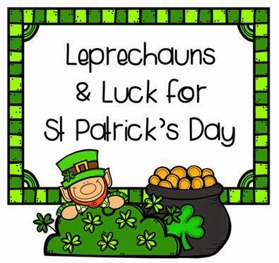 Rockin' Teacher Materials: Leprechauns and Luck for St. Patrick's Day