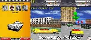 crazy taxi 3d java games