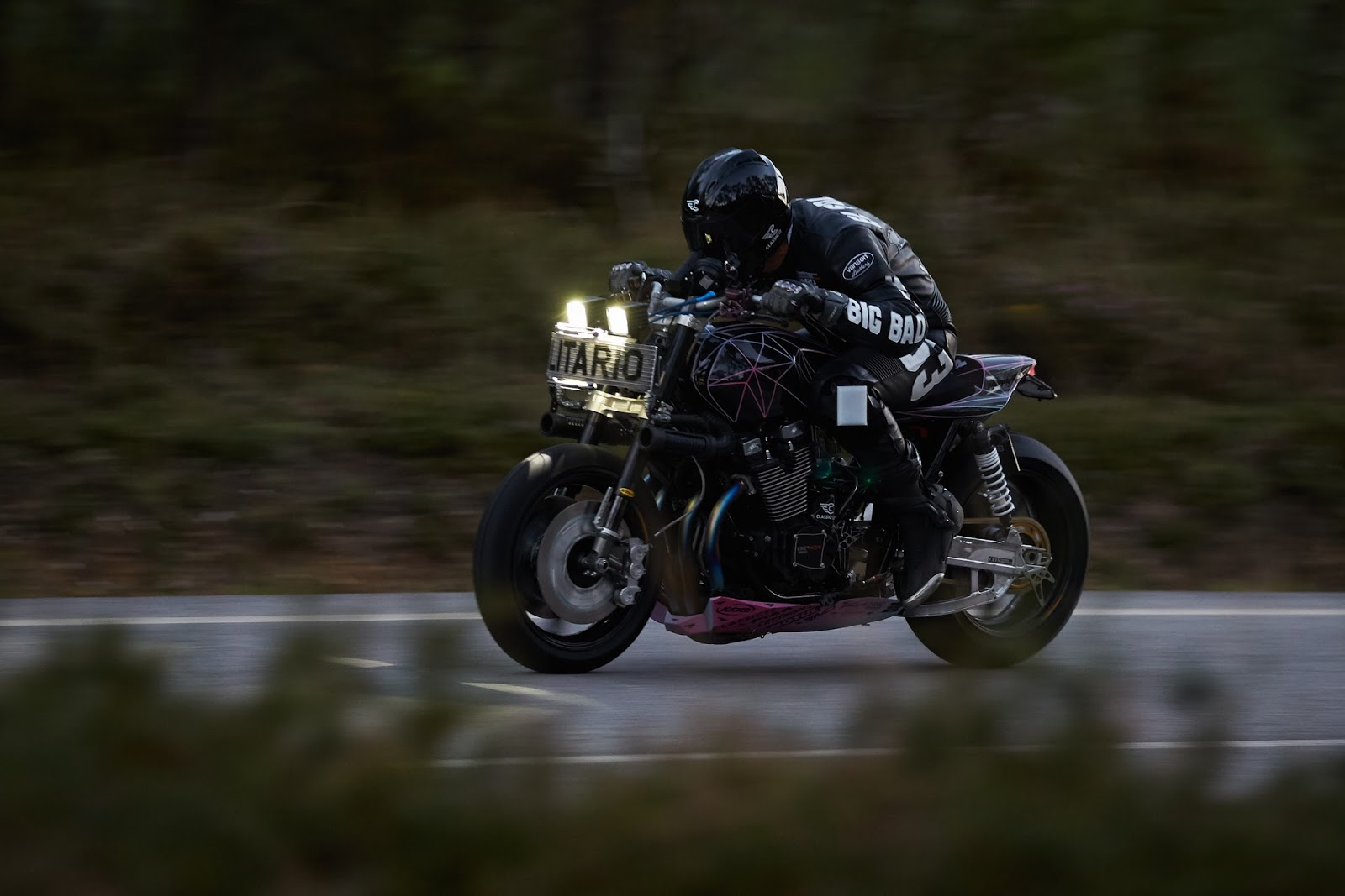 Unique builder el solitario does amazing things with yamaha xjr1300