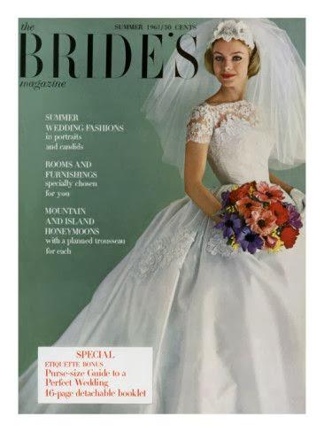 bodas originales años 50 y 60 revista bride´s