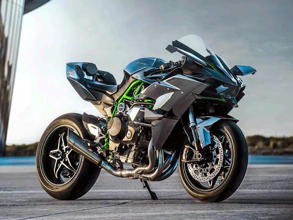 Kawasaki Ninja H2R 2015 Terbaru
