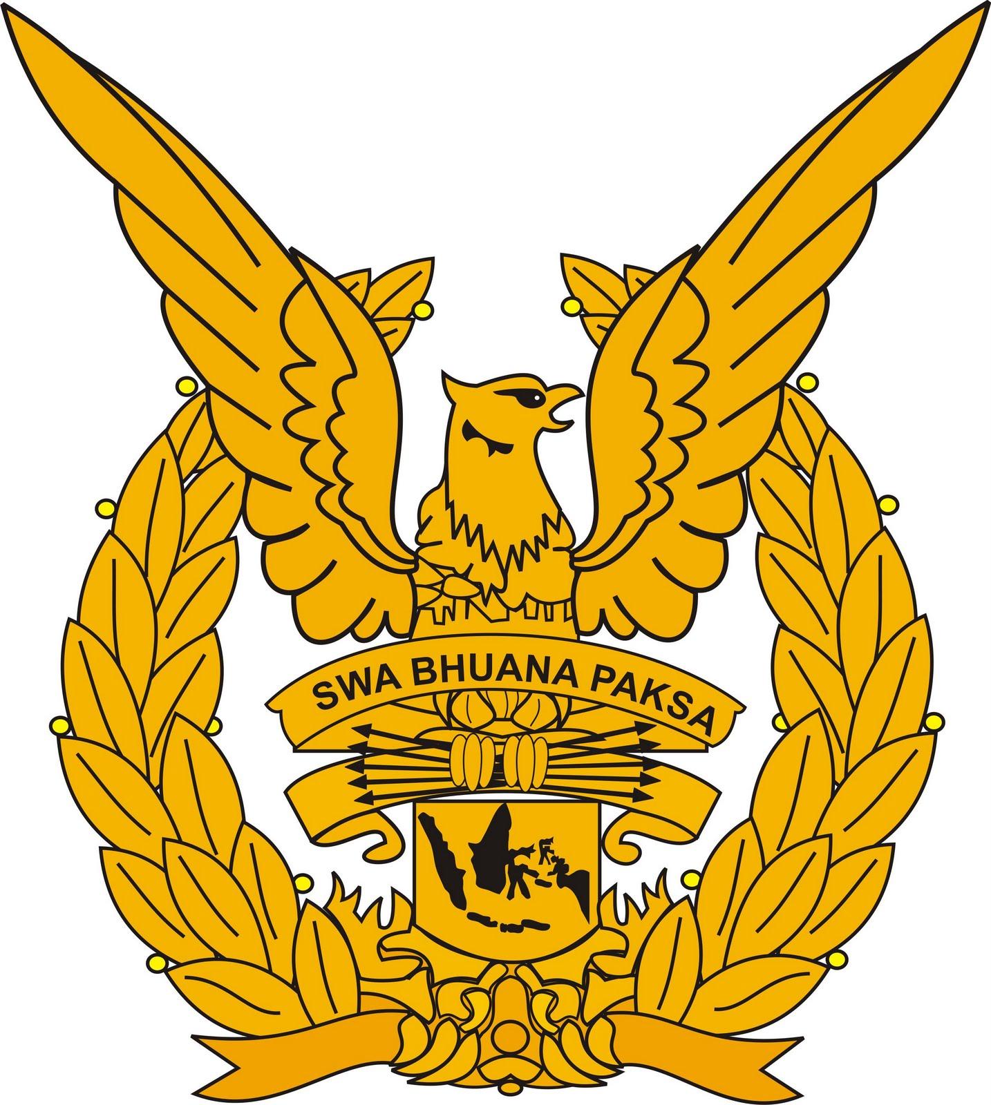 Logo TNI Angkatan Darat (AD), Angkatan Udara (AU) dan Angkatan Laut ...