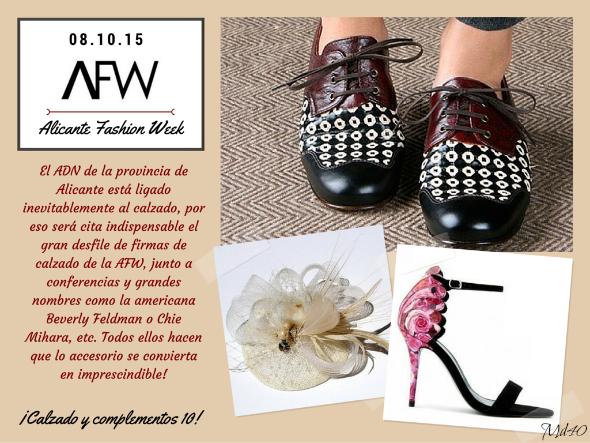 alicante fashion week afw mujer despues de los 40 blogger calzado