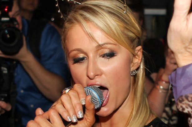Paris Hilton Makeup Images