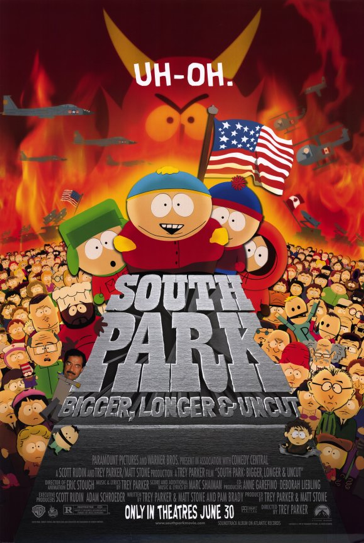 DVD Challenge #12: SOUTH PARK: BIGGER, LONGER & UNCUT