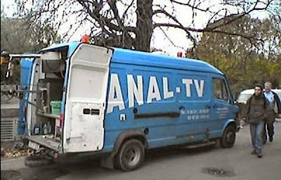 Anal TV Übertragungswagen