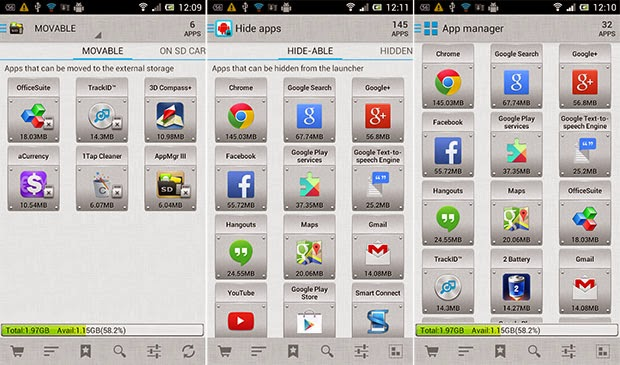 AppMgr Pro III Apk Terbaru
