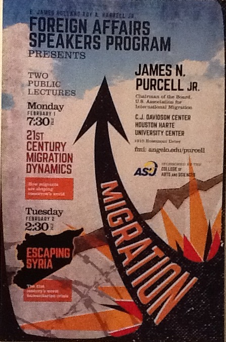"VIDEO_""Escaping Syria""_Angelo State University_Foreign Policy and Events Talks"