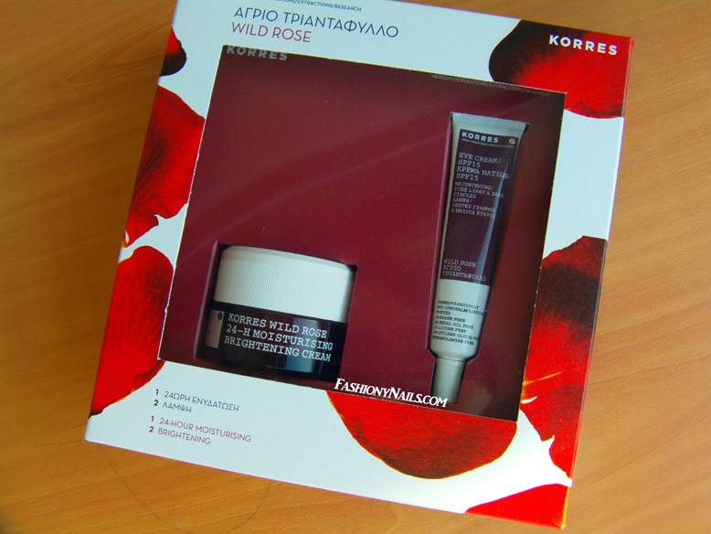 Korres Wild Rose Moisturizer and Eye Cream Review