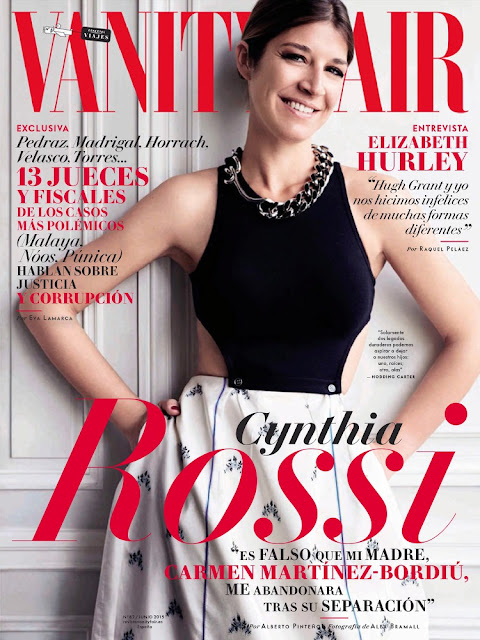 Model @ Cynthia Rossi - Vanity Fair Spain, June 2015