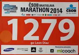 Dorsal maratón