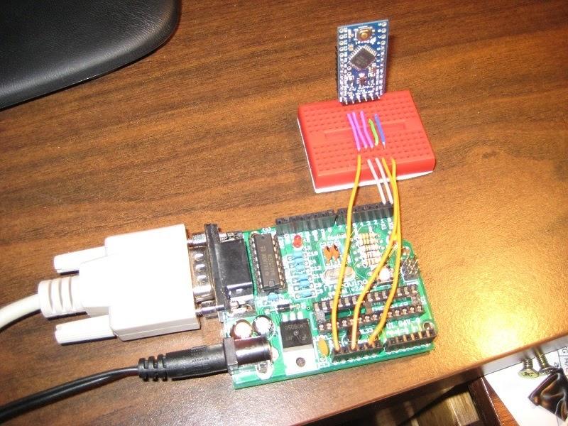 Ни слова о работе Как прошить arduino pro mini с помощью