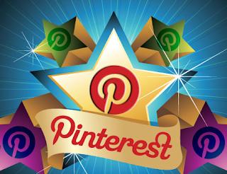 Pinterest stars logo