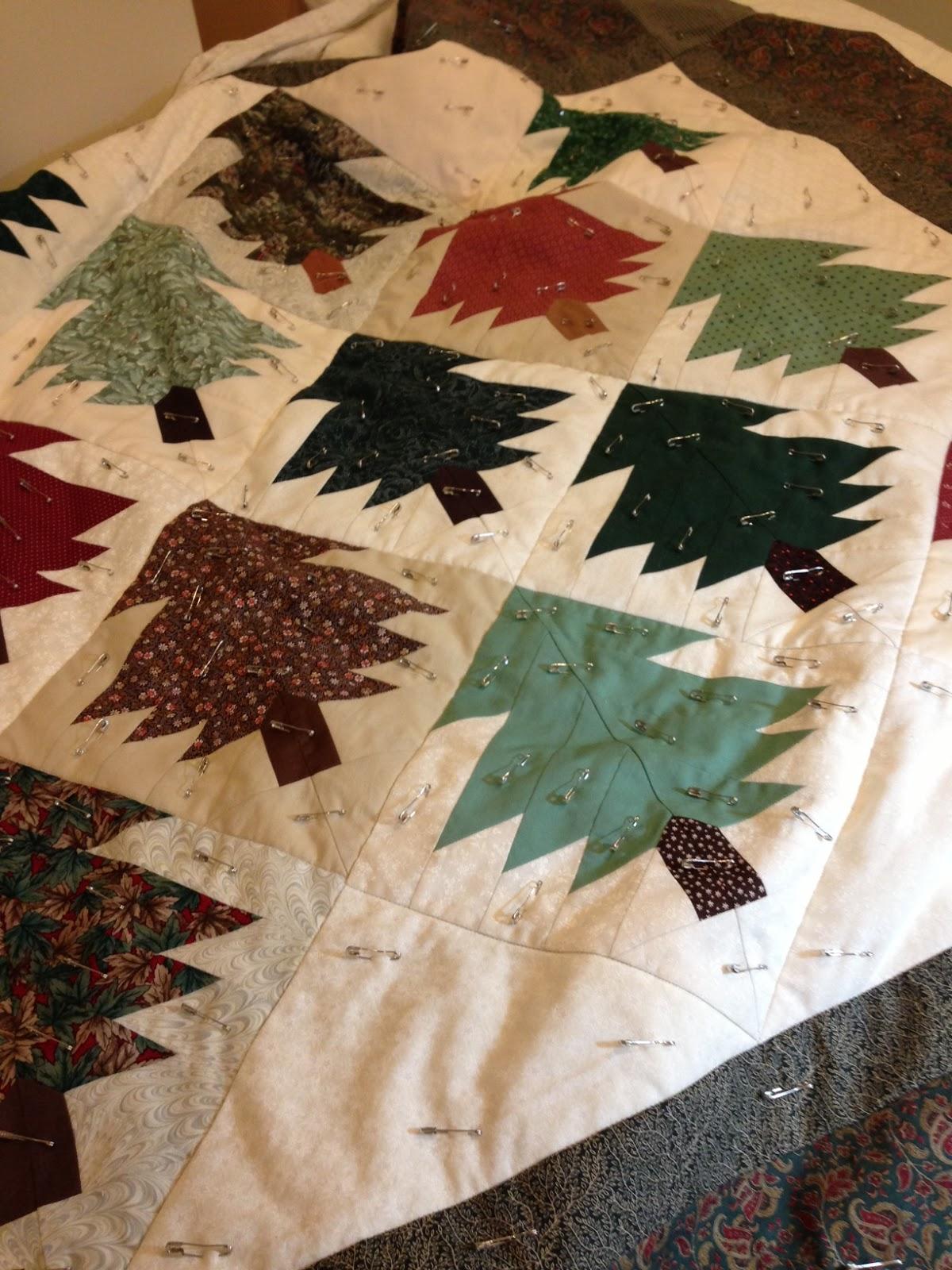 Karen's Sewing Room: June 2013 : pine tree quilt block - Adamdwight.com