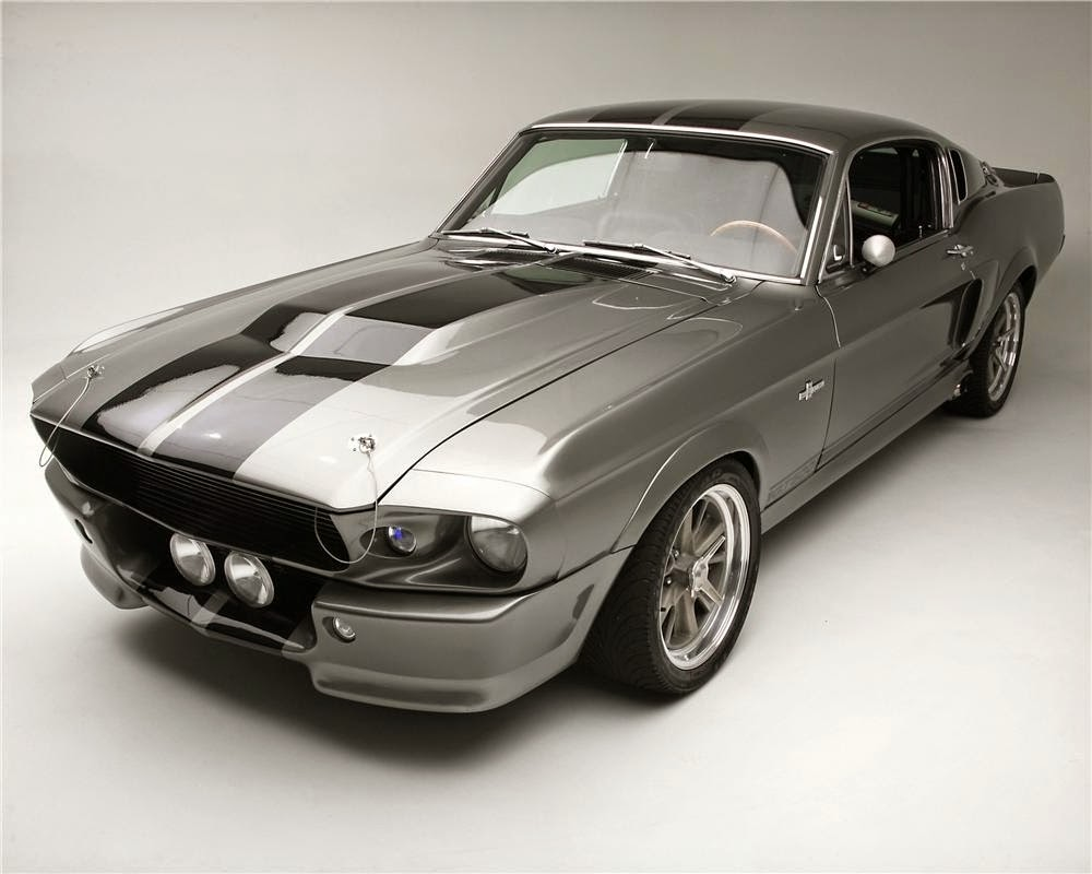 1967 eleanor mustang from gone in 60 seconds car. Black Bedroom Furniture Sets. Home Design Ideas
