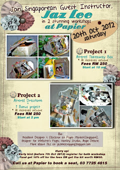 Paper, KL : Jaz&#39;s 20 Oct 2012 Class