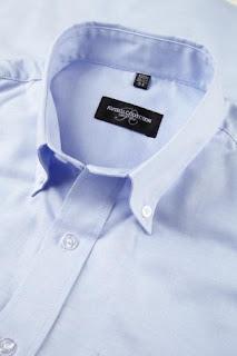 Ampliar imagen : Camisa Oxford Caballero manga larga - RUSSELL