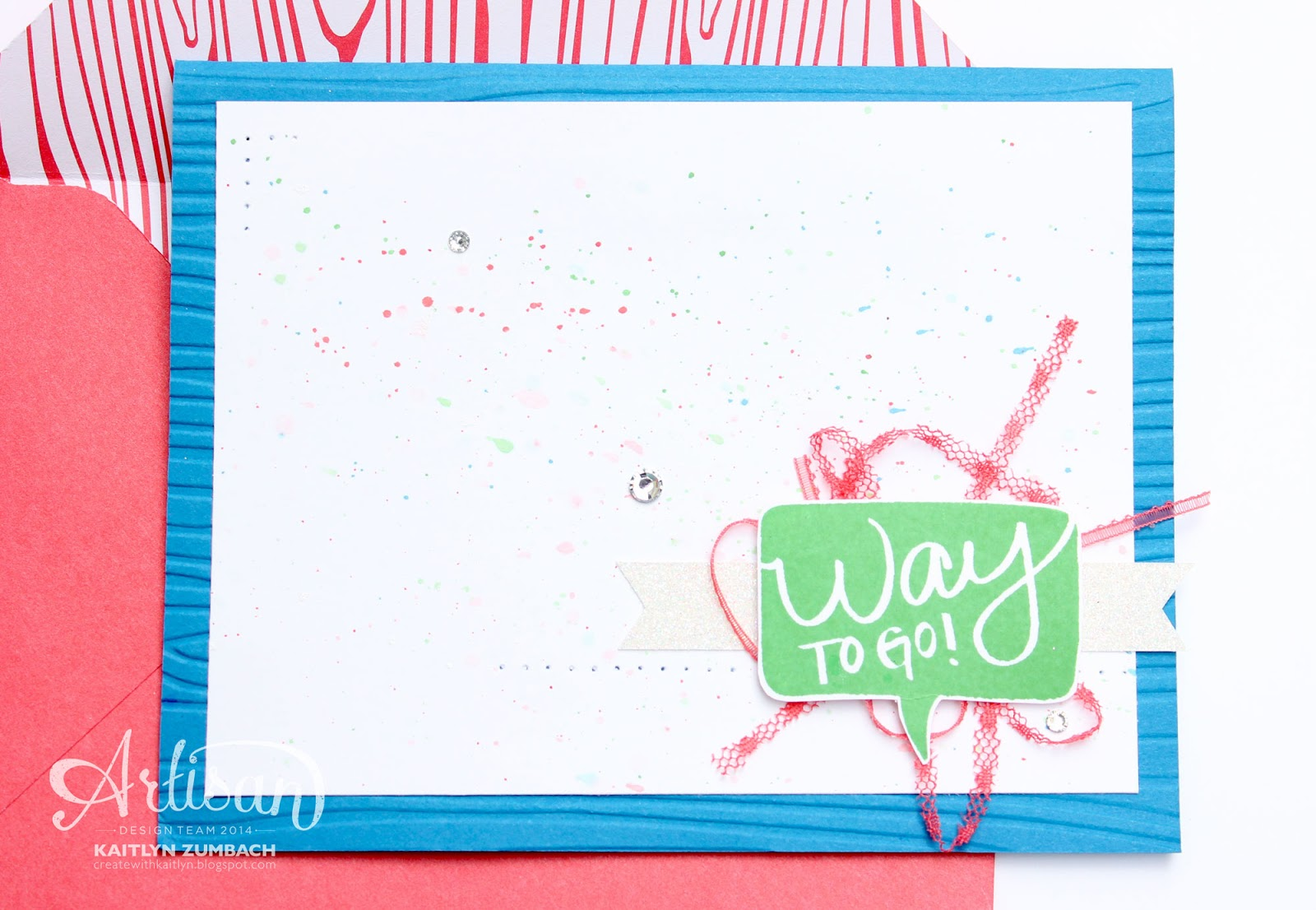 Neon I Think Youre Great Cards Stampin Up Artisan Blog Hop